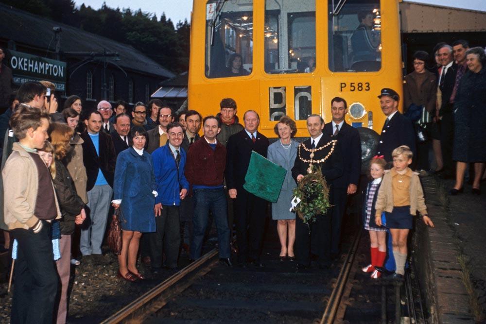 The last Okehampton train, 1972.