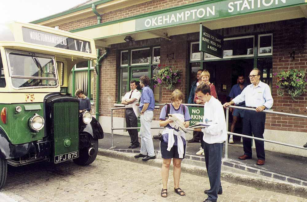 Okehampton station, 1997