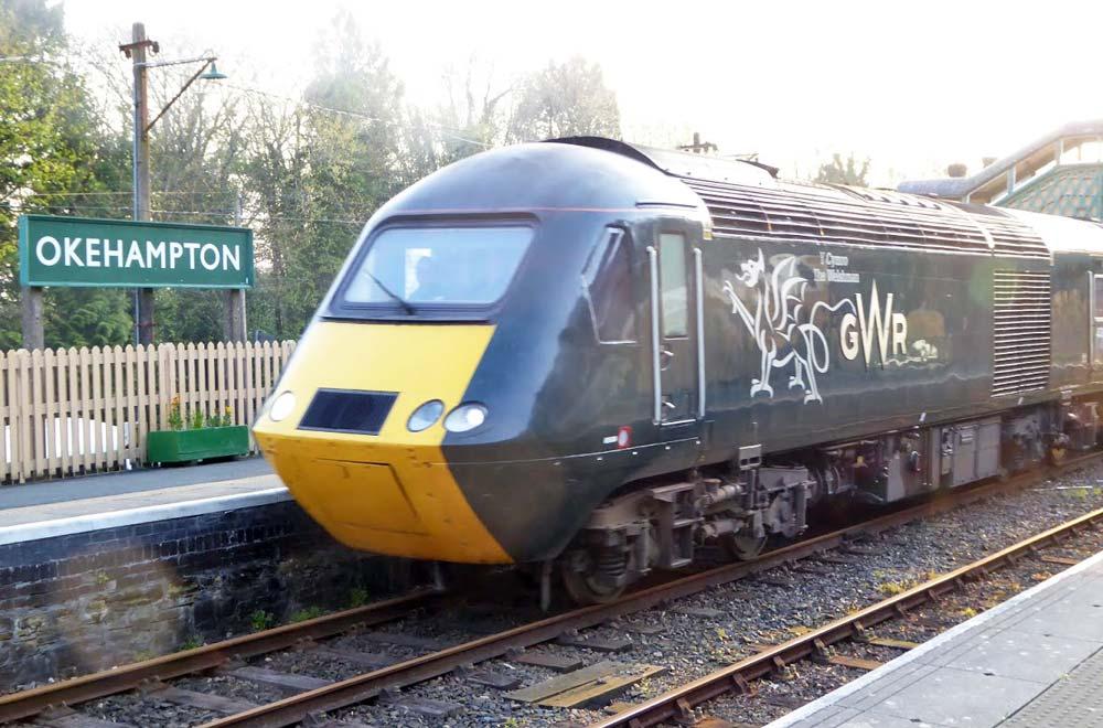 Special train from Okehampton to Stratford-upon-Avon