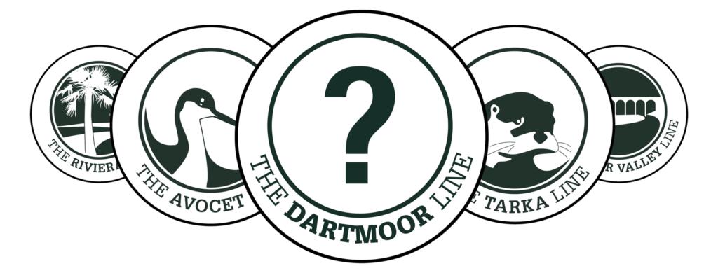 Dartmoor Line roundel design competition graphic
