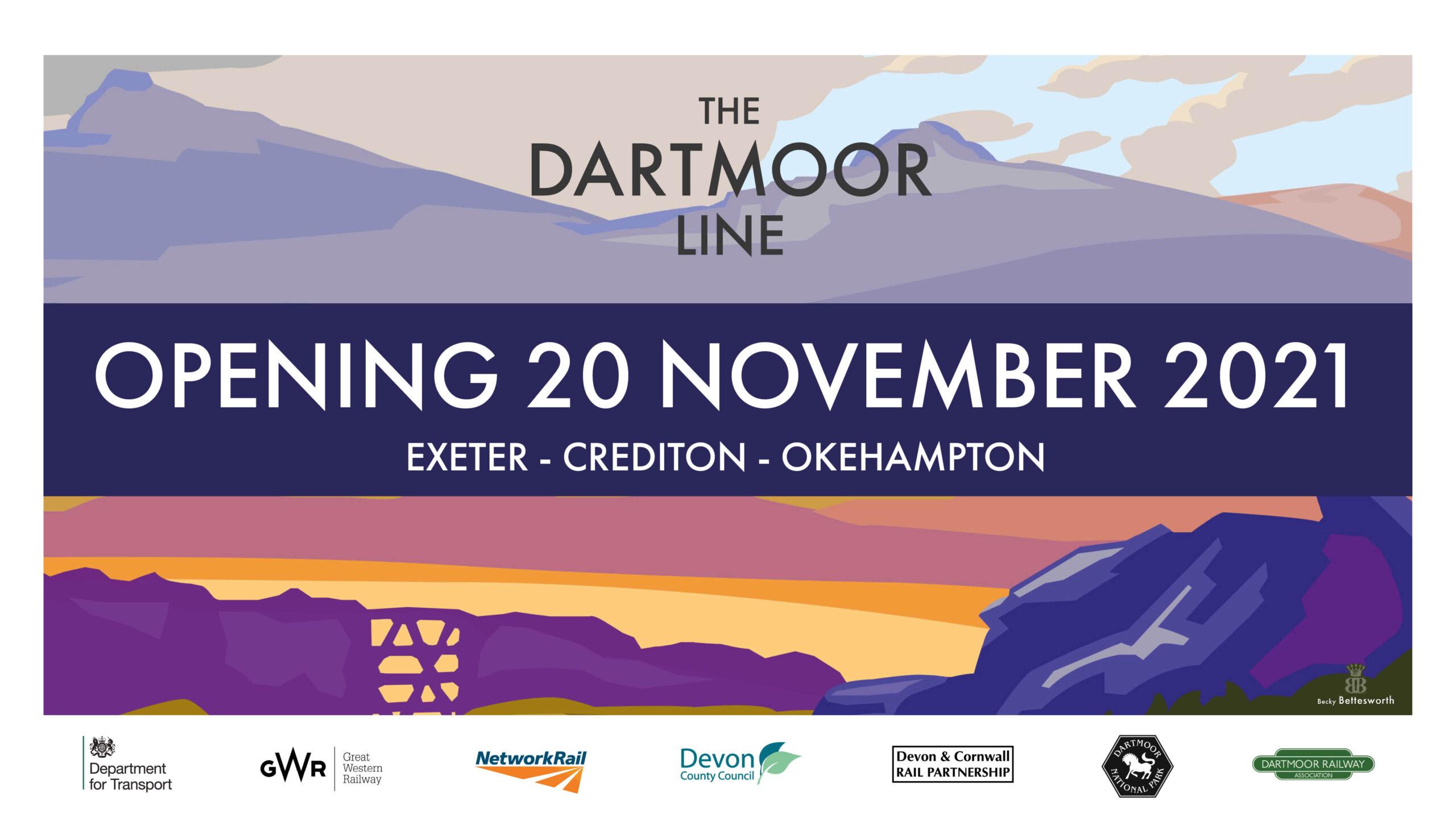 The Dartmoor Line - Opening 20 November 2021