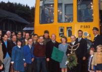 Last train from Okehampton in 1972