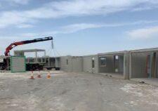 Site compound under construction